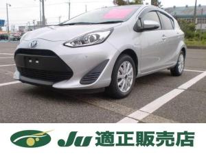 トヨタ アクア L 夏タイヤ新品アルミセット付 セーフティセンス