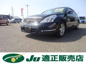 日産 ティアナ 250XL 電動シート 夏タイヤ4本新品アルミセット付 電動シート/夏タイヤ新品アルミセット付/Wエアバッグ/ABS/