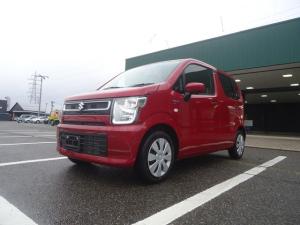 スズキ ワゴンR ハイブリッドFX 4WD セーフティサポート 全方位モニター 4WD/セーフティサポート/全方位モニター付カメラパッケージ/両席シートヒーター/