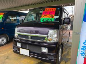 スズキ エブリイワゴン JP4WDナビ社外アルミ マニュアル5F