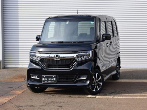 ホンダ N-BOXカスタム G・Lホンダセンシング 4WD 純正メモリーナビTV バックカメラ ワンオーナー車
