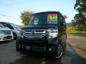 ホンダ N-BOXカスタム G・ターボLパッケージ 4WD