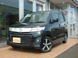 マツダ AZワゴンカスタムスタイル XS 4WD シートヒーター スマートキー HID アルミ