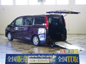 トヨタ エスクァイア 車椅子2基固定 車高調整 Bモニター パワスラ LEDライト