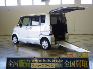 ホンダ N-BOX+ 車椅子1基 電動ウィンチ スローパー スマートキー 4WD