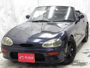 スズキ カプチーノ リミテッド 車高調 ヴォルクAW スポーツマフラー自社買取車