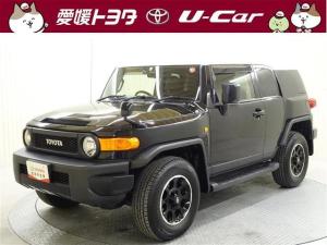 トヨタ FJクルーザー ブラックカラーパッケージ CD 純正アルミ キーレス ETC