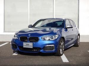 BMW 1シリーズ M140i パーキングサポートP 社外品ドアスピーカー・サウンドプロセッサー取付 ワンオーナー 2年間走行無制限保証