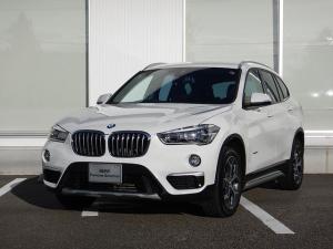BMW X1 sDrive 18i xライン コンフォートP 社外品DTV ワンオーナー 2年間走行無制限保証