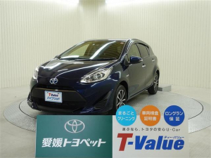 トヨタ アクア Sスタイルブラック スマートキ- ETC メモリーナビ