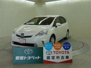 トヨタ プリウスアルファ Gツーリングセレクション バックモニター スマートキ- CD