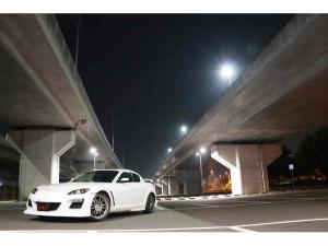 マツダ RX-8 タイプS フルエアロ TEIN車高調 オートエグゼマフラー マツダスピードリヤスポイラー ENKEIアルミホイール