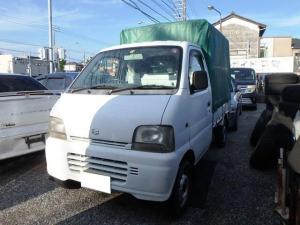 スズキ キャリイトラック KA 4WD H/L切替 5MT 幌 エアコン パワステ