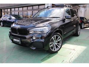 BMW X5 xDrive 35d Mスポーツ ディーラー車 純正ナビ、フルセグ 本革シート ETC 純正20インチAW ブラックサファイアメタリック