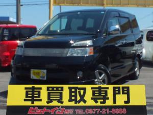 トヨタ ヴォクシー Z 煌  両側自動ドアー 後期モデル 純正HDDナビ エアロ