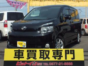 トヨタ ヴォクシー Z 8人乗り 両側自動スライドドアー イクリプスナビ 地デジフルセグTV リア用モニター