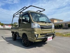 ダイハツ ハイゼットトラック ジャンボ ハードカーゴキャリア フォレストオートリフトアップ35mm 社外アルミ エクストリーム14インチ 荷台ランプ フォグランプ ETC 純正CD キーレス 4WD