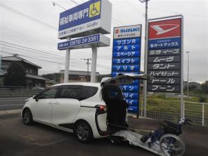 トヨタ シエンタ G 車いす仕様5人 タイプI 助手席セカンドシート付