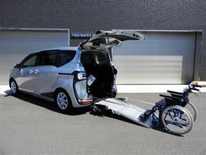トヨタ シエンタ  スロープ タイプ1車いす移動車 XVパッケーギ 助手席側セカンドシート無 福祉車両 スローパー 純正SDナビTV 両側スライドドア