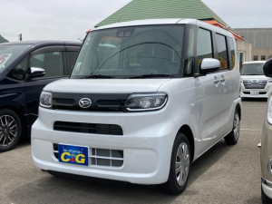 ダイハツ タント X 届け出済み未使用車 衝突被害軽減システム シートヒーター LEDヘッドランプ 左側電動スライドドア