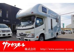 トヨタ ダイナトラック キャンピング ソーラーパネル HITACHIエアコン 冷蔵庫