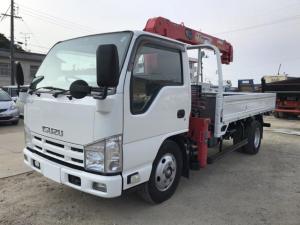 いすゞ エルフトラック 2tクレーン付 4段ラジコン付 積載2t