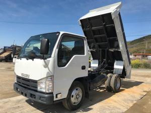 いすゞ エルフトラック 2t強化ダンプ高床