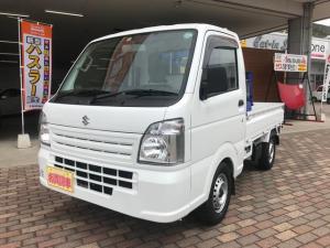 スズキ キャリイトラック KCエアコン・パワステ タダノ2段クレーン付 登録済未使用車
