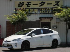トヨタ プリウス S 社外アルミホイール 社外マフラー ナビ フルセグTV ETC ドライブレコーダー スマートキー HIDヘッドライト