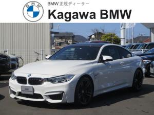 BMW M4 M4クーペ M DCT ドライブロジック 純正ナビ バックモニター レザーシート 19インチAW