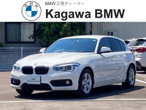 BMW 1シリーズ 118i スポーツ パーキングサポートパッケージ 純正ナビ バックモニター ETC ドライブレコーダー LEDヘッドライト 16インチアルミホイール クルーズコントロール プッシュスタート