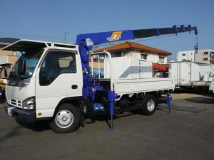 いすゞ エルフトラック  エルフ2.7トン ワイドロング6ダンクレーン