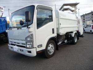 いすゞ エルフトラック  3トンプレスパツカー5.8リユーベ