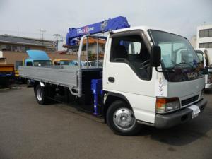 いすゞ エルフトラック  3トンワイドロング4ダンクレーンラジコン