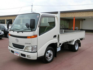 トヨタ ダイナトラック 平ボディ 軽油 最大積載量2000kg ゲートプロテクター
