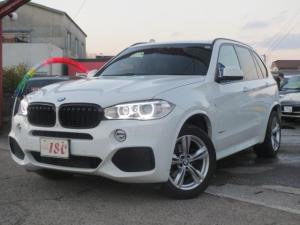 BMW X5 xDrive 35d Mスポーツ 黒本革シート/7人乗/1年保証付き/純正ナビゲーション/フルセグTV/純正19インチアルミ/コンフォートアクセス/パドルシフト