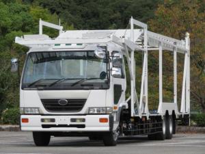 UDトラックス コンドル 9.2t 増トンワイド 低床2デフ 5台積キャリアカー