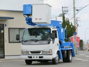 いすゞ エルフトラック 11.9m 高所作業車