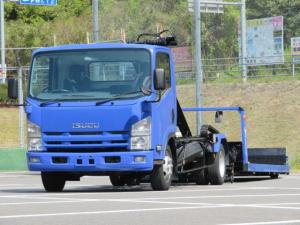 いすゞ エルフトラック 3t ワイド超ロング フラトップ
