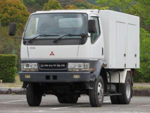 三菱ふそう キャンター 4WD 高床 移動電源車