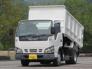 いすゞ エルフトラック 2t 全低床土砂禁ダンプ