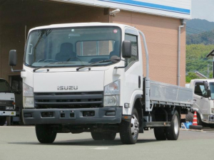 いすゞ エルフトラック 2t 4WD ワイドロング アルミブロック