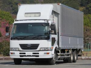 UDトラックス コンドル 11.1t 増トンワイド アルミウイング 低床2デフ