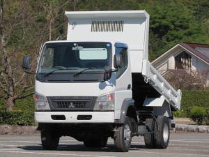 三菱ふそう キャンター 2t 4WD 高床 強化ダンプ