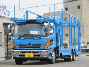 日野 ヒノレンジャー 8.6t 増トン 5台積キャリアカー 低床2デフ