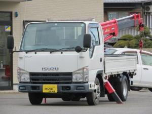いすゞ エルフトラック 2t 4段 荷台クレーン