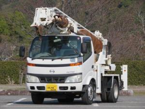 日野 デュトロ 穴掘建柱車