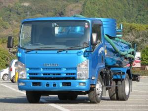 いすゞ エルフトラック 3.7t ワイド バキューム