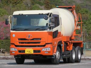 UDトラックス クオン 9.63t コンクリートミキサー