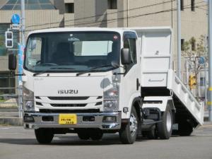 いすゞ エルフトラック 3.75t ワイド スライドダンプ
